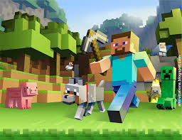 Invitaciones De Minecraft Para Editar Gratis Drawer Wall
