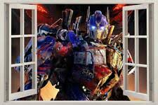 Transformer Wall Decal Optimus Prime Giant Sticker Decor Party Decoration Decals For Sale Online Ebay