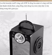 LOA BLUETOOTH MỚI NHẤT 2020 ] Loa Kẹo Kéo Hát Karaoke Mini MN03 Công Suất  Lớn 60W Nghe Ấm,Chắc Loa ,Không Rè Loa Kéo Bluetooth MN03 Hát Có Echo +  Tặng Micro