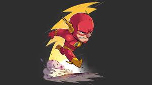 wallpaper chibi thunder the flash