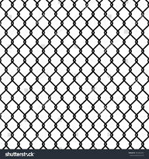 Seamless Chain Link Fence Pattern Texture Stock Vector Royalty Free 353904632