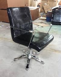 professional hair salon furniture black