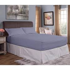 bed tite flannel bed tite 4 piece slate
