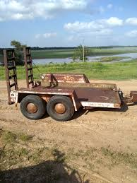 skid steer trailer low too the ground