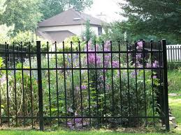 Ez Fence Belleville 4 X 5 10 Speartop Aluminum Fence Panels At Menards
