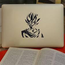 Dragon Ball Z Car Decal Super Saiyan Goku Stickers For Laptop Wall Decor