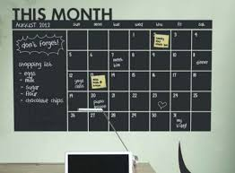 Keep Track Of Your 2015 Schedule And To Do List With This Chalkboard Calendar Wall Decal Chalkboard Calendar Chalkboard Stickers Blackboard Sticker