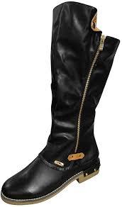 knee high boots for women wide calf