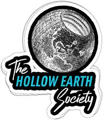 Amazon Com Chillylkst Hollow Earth Society Novelty Conspiracy 4x3 Vinyl Stickers Laptop Decal Water Bottle Sticker Set Of 3 Home Kitchen
