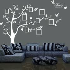 Family Tree Wall Sticker Photo Picture Frame Available In White Or Black Ebay