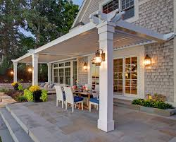 attach a patio roof to an existing house