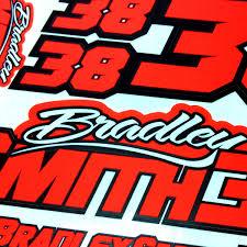 Bradley Smith Sticker Sheets » Bradley Smith #38