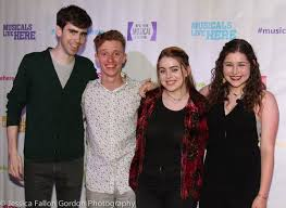 The Cast of Painting Faye Salvez at the NYMF Opening Night Party! – Rachel  Covey