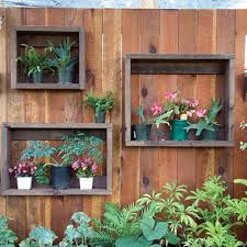 28 Super Unique And Easy To Make Fence Planters