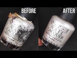 how to re old nail polish nail