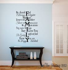 This Fun Family Vinyl Decal Shown Measures 33tall By 22wide Also Available In 22tall X 15wide Wall Quotes Decals Living Room Family Wall Decals Family Wall