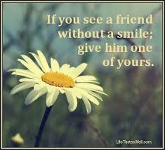 quotes about friends and smiles quotesgram friends quotes