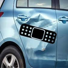Two Band Aid 6 Dent Ouch Decal Vinyl Car Window Decal Bumper Sticker Us Seller