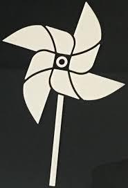 Pinwheel Car Decal Aspen Drake Seemann Foundation