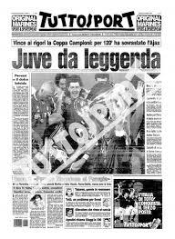 22 Maggio 1996, la Juve batte l'Ajax ai rigori e torna sul tetto d ...