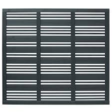 Contemporary Mixed Slatted Fence Panel