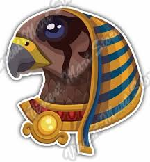 Ra Head Ancient Egyptian Sun God Egypt Gift Car Bumper Vinyl Sticker Decal 4 X5 For Sale Online Ebay