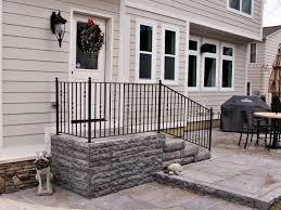 ribbon twist metal porch rail great