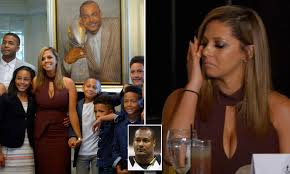 Wife of late Will Smith speaks at Saints HOF induction | Daily Mail Online