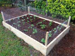 Not So Newlywed Mcgees Diy Raised Garden Bed Fenced Vegetable Garden Backyard Vegetable Gardens Building Raised Garden Beds