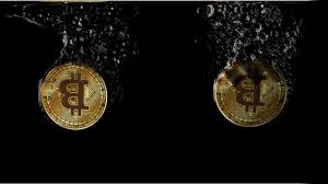 Bitcoin,cryptocurrency,splash,water,crypto - free image from ...