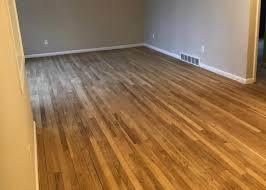 hardwood floor refinishing orange