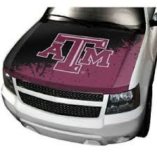 Texas A M Aggies Hood Cover New Ncaa Auto Car Truck Sticker Decal Suv Ebay