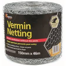 Whites On Site 150 X 13 X 0 56mm X 46m Vermin Mesh Bunnings Warehouse