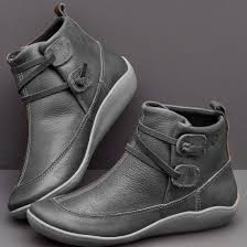 china womens soft leather ankle booties