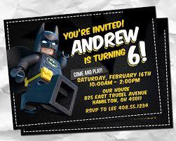 Invitacion De Lego Batman Lego Batman Invitaciones Batman De