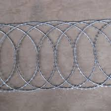 China Razor Wire Fence Flat Wrap Type Manufacturers And Suppliers Fuhai