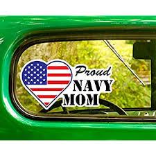 Amazon Com Proud U S Navy Mom Stickers 2 Decals Bogo For Window Car Jeep 4x4 Truck Laptop Bumper Rv Home Kitchen