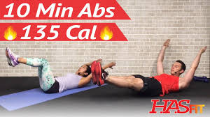 10 minute ab workout at home 10 min