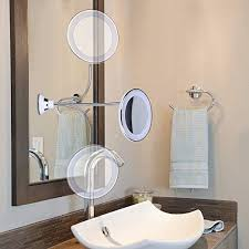bright led lighted makeup mirror