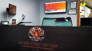 glass tiger car window tinting home