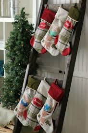 diy stocking ladder for homes without a