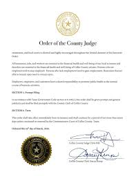 Collin County issues 'stay-at-home ...
