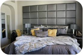 15x20 upholstered headboard panels hung