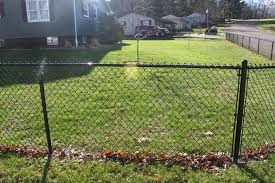 Strauss Fence Company New Concord Vinyl Coated Chain Link Fence