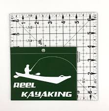 Reel Kayaking Kayak Fishing Vinyl Decal Window Sticker Adventure Roost