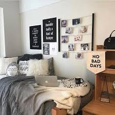 Black And Grey For Next Year Shop It All At Dormify Com 3 Dorm Room Designs Dorm Room Inspiration Dorm Room Diy