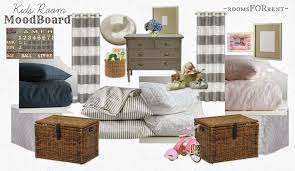Kids Room Mood Board Source List Rooms For Rent Blog