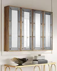 venetian style mirrored flat screen tv
