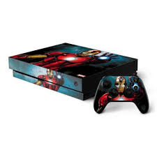 Ironman Xbox One X Bundle Skin Marvel