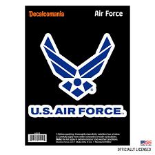U S Air Force Logo Decal Decalcomania
